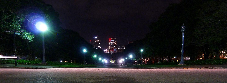 Sydney Campus at night