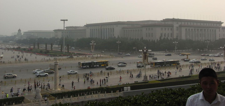 Peking großer Platz rechts
