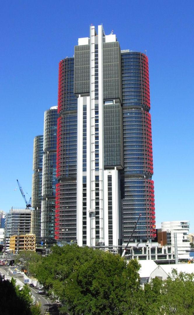 skyscrapers sydney harbour
