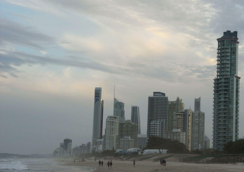 Skyscraper in Surfers