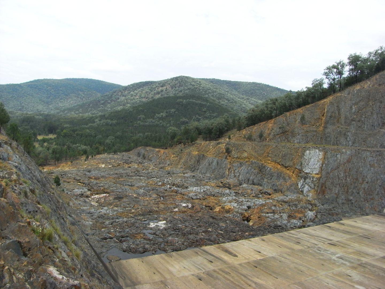 Glenlyon Dam Spillover