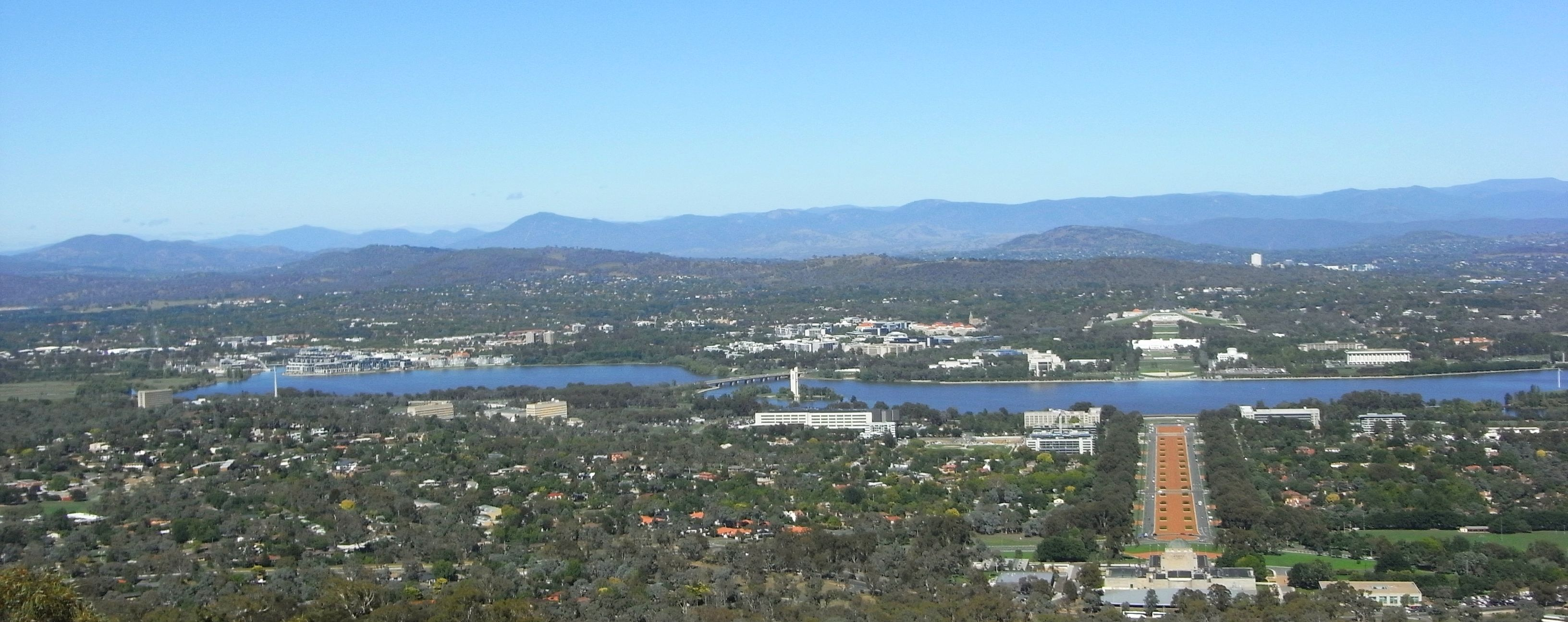 Mount Ainslie Lookout Canberra