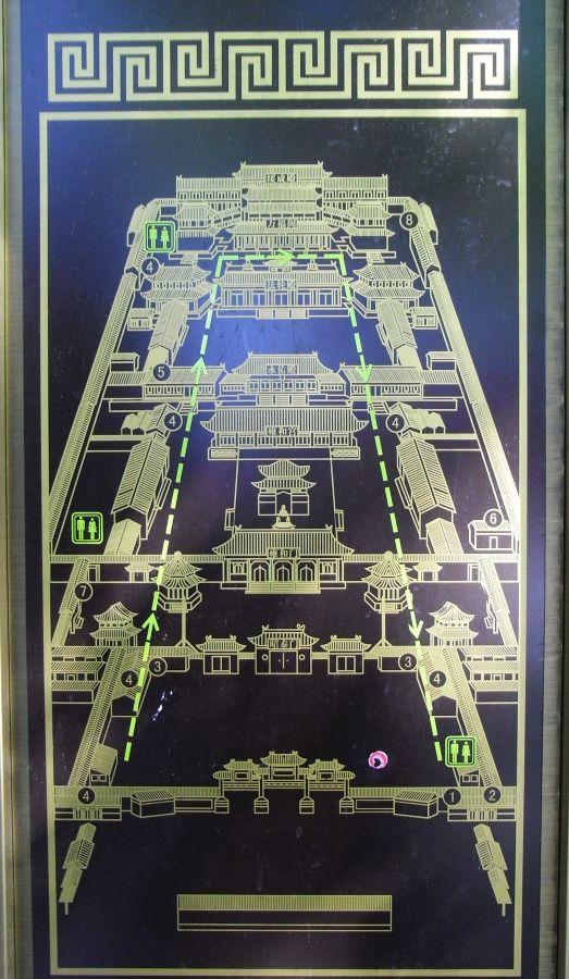 Aufbau Tempel